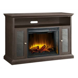 Best Small TV stand WITH Electric Fireplace
