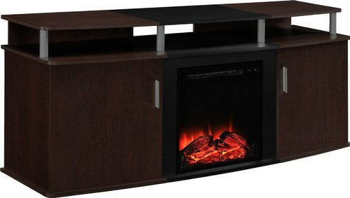 "Bailey 65"" TV Stand with Electric Fireplace"