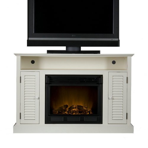 Best White Electric Fireplace TV Stand Of 2016-Find Best White Fireplace Now